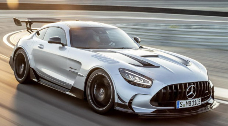 Mercedes-AMG GT Black Series Now Officially
