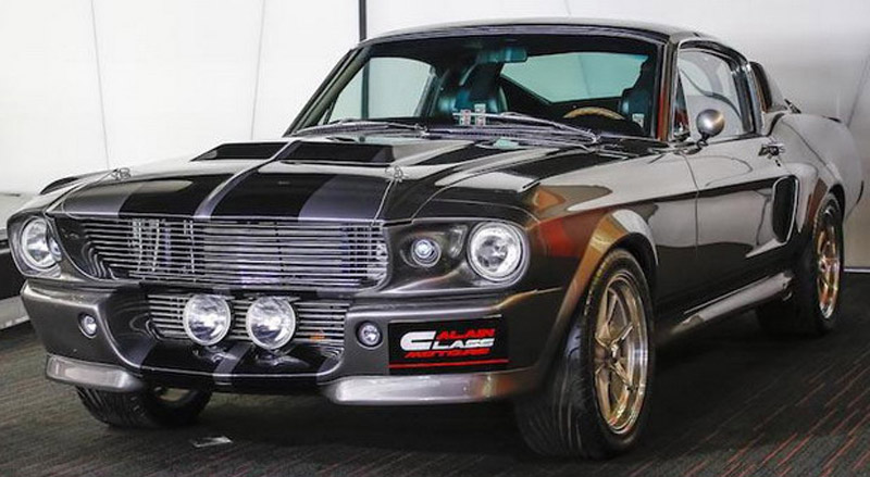 """One Of Three Ford Mustang Eleanor From Legendary """"Gone In 60 Seconds"""" On Sale"""