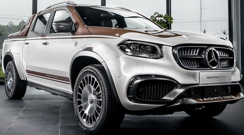 Mercedes X Class Yachting Edition